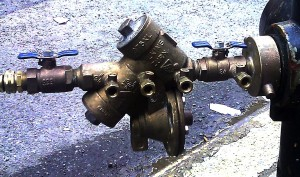 Backflow Double check valve